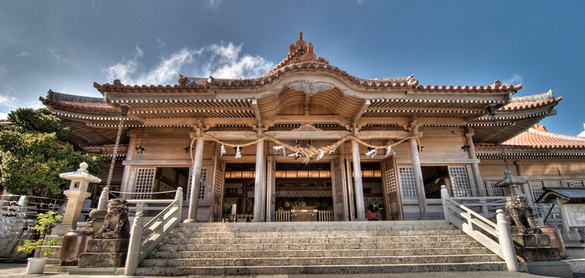 Futenma Shrine by Jason Kimball